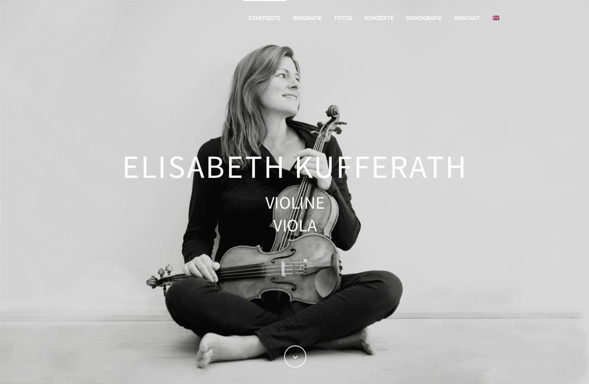 Elisabeth Kufferath – Violine / Viola