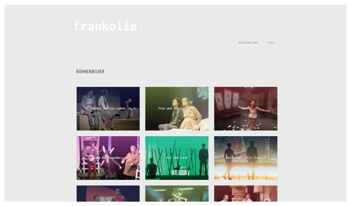 Frank Olle – Bühnenbildner