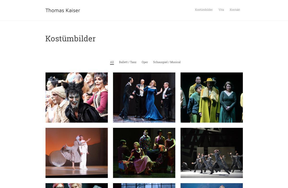 Thomas Kaiser – Kostümbildner