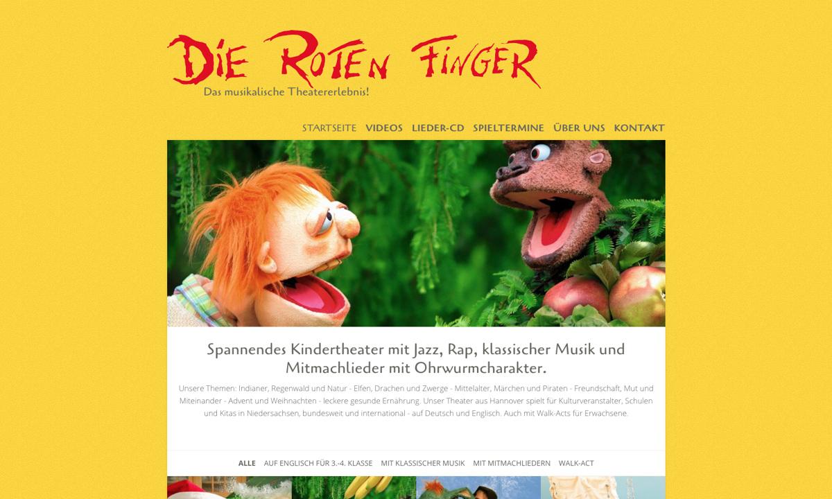 """Figurentheater """"Die roten Finger"""""""